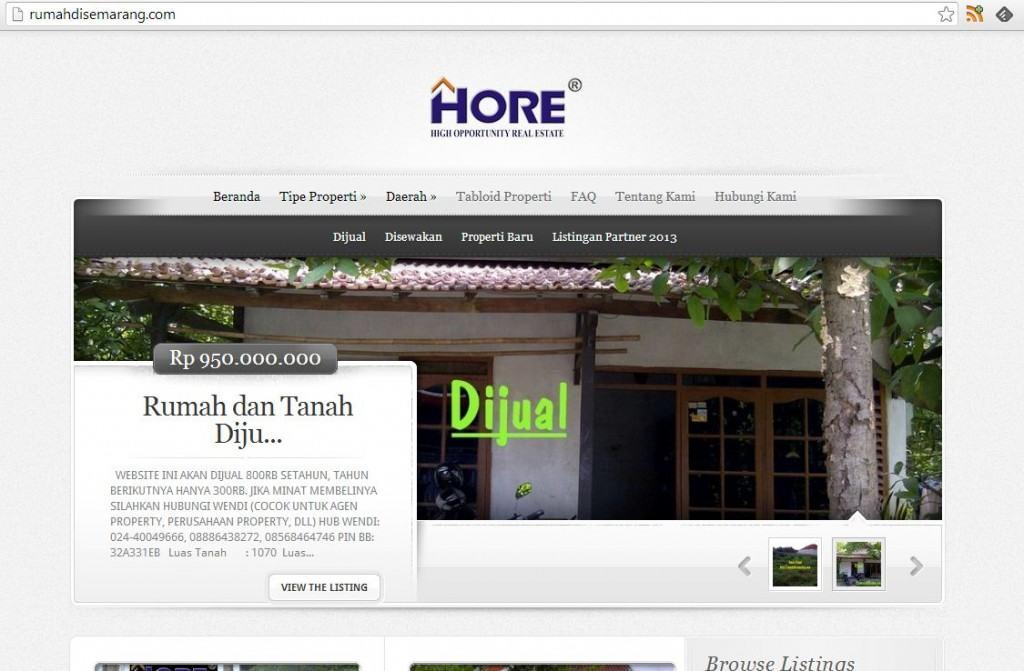 website rumah di semarang inginwebsite-com