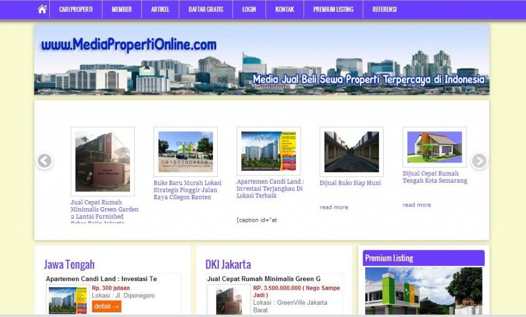 Media Properti Online - inginwebsite-com