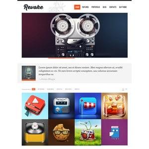 jasa-pembuatan-website-blog-personal-pribadi-jakarta-Revoke-theme