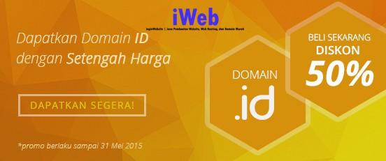 Diskon 50% Domain Apapun.ID